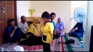 MasBro di tempat Keluarga Abu Hafidz