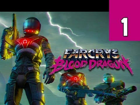 Far Cry 3 Blood Dragon Gameplay Walkthrough - Part 1 Rex Power Colt Ultra PC Let's Play