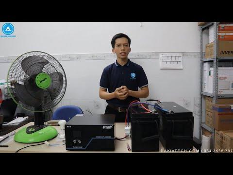 Bộ Lưu Điện SongSin 2KVA và 2 Ắc quy Vision 12V 150Ah - Cấu tạo và Cách lắp đặt (chi tiết nhất)