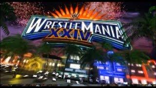 WWE Wrestlemania 24 Opening pyro (480p)