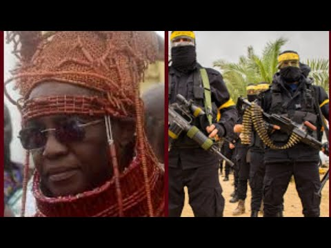 BREAKING NEWS: UNKNOWN MILITANT ATTACK ABA OF BENIN AKPOLOKPOLO EWUARE II TODAY IN HIS PALACE. LIVE