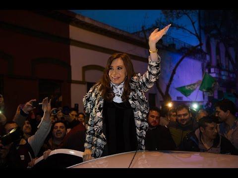 Cristina Kirchner en reunión con dirigentes sindicales en SADOP