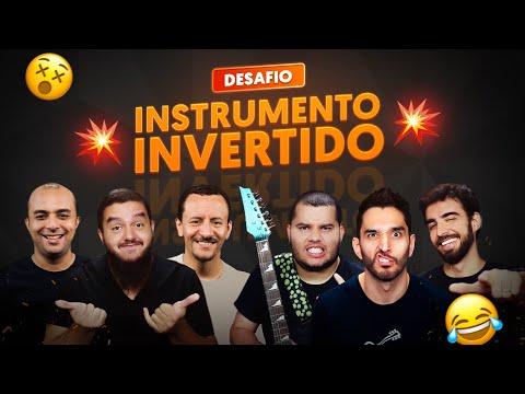 TOCANDO COM O INSTRUMENTO AO CONTRÁRIO  DESAFIO 2
