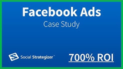 Facebook Ads Case Study | 700% ROI with Facebook Advertising