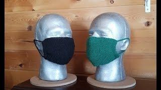 Модная маска для лица МК подробный