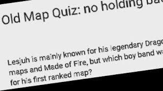LEARNT ANYTHING IN 10 YEARS? - new/old map quiz