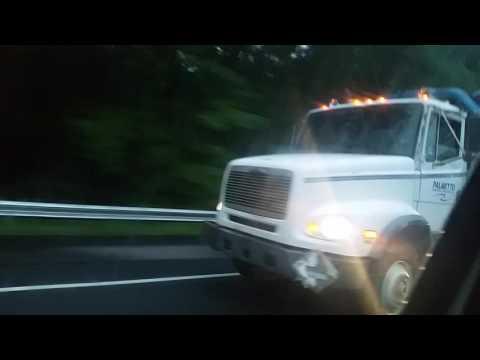 Freightliner FL112 vacuum truck