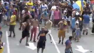 יום האוהד של בוקה - אוהדי בוקה מתפרעים במרכז בואנוס איירס