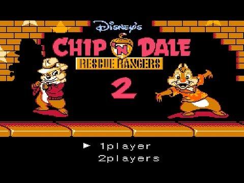 Стрим Ремейка первой части игры Чип и Дейл для NES