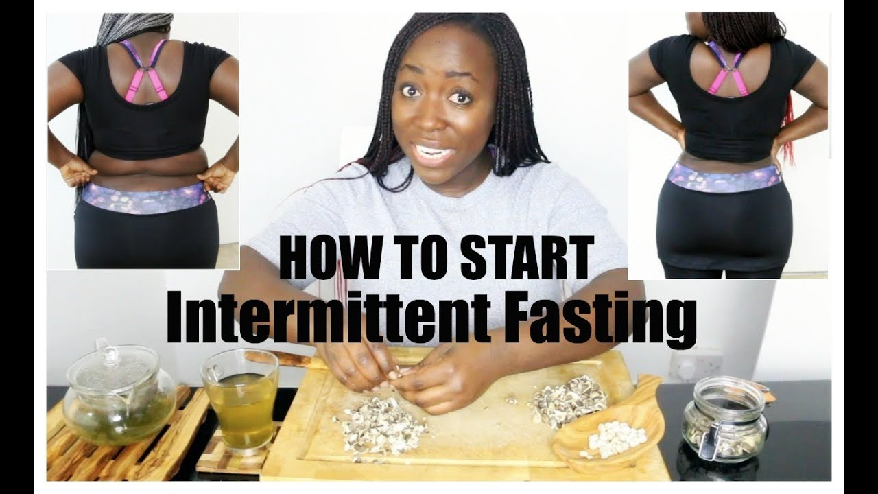 How To Start Intermittent Fasting And Lose Weight Fast Without Exercise Youtube