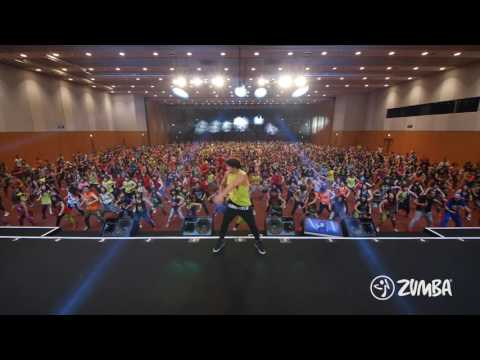 "ZUMBA dancing to ""FIREHOUSE"" w/Daddy Yankee"