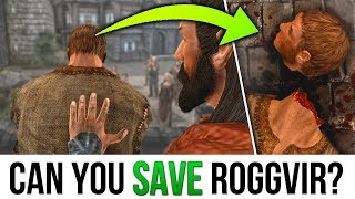 Skyrim BUT Is it possible to STOP Roggvir