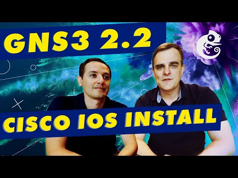 GNS3 IOS Images: Build a Cisco VIRL gns3 network - YouTube