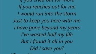 Stone Sour -  Song #3 (Acoustic) Lyrics