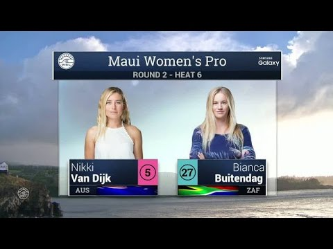 2016 Maui Womens Pro: Round Two, Heat 6