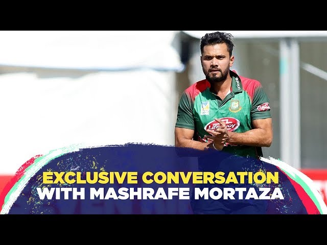 Mashrafe reveals how he still receives advice from mentor Andy Roberts