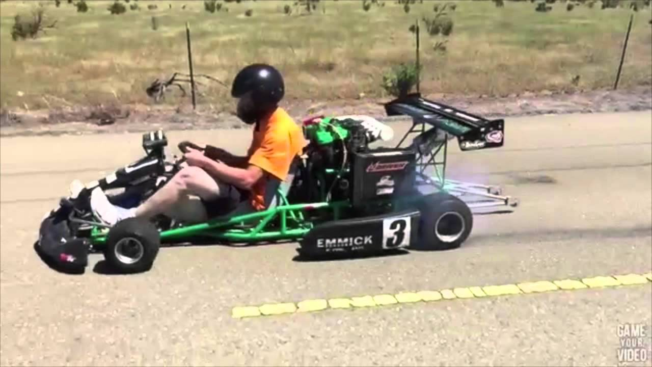 bad ass gokart 2.0 - youtube