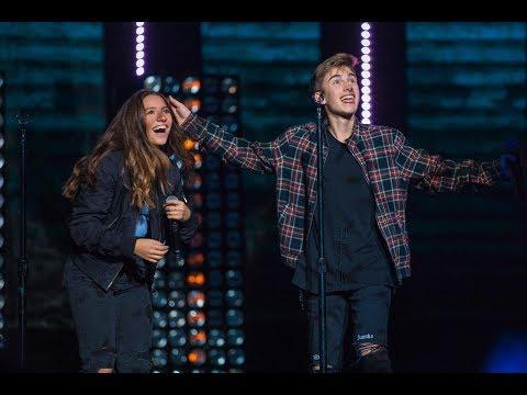 Johnny Orlando And Mackenzie Ziegler - 'What If' (live From WE Day Manitoba)