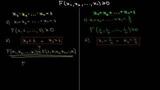 Метод Штурма для доказательства неравенств Теория
