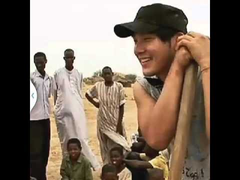 Park Yong Ha in Chad 2010 - YONA School - Song : One Love