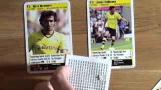 Regeln für Fußball Quartett des Tespe Sportverlags