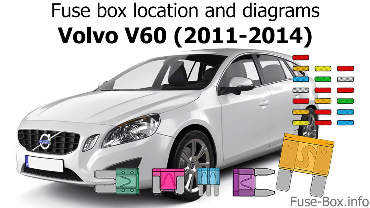 Fuse Box Location And Diagrams  Volvo S60  2011
