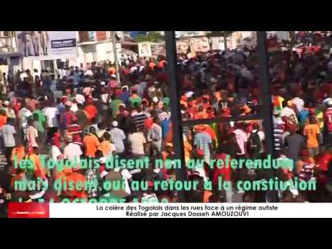 Arrêt sur image de la rédaction de « LA GAZETTE DU TOGO » sur les manifestations au Togo