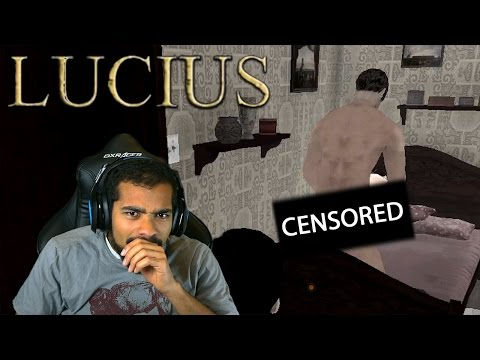 WHAT THE F#%K DID I WALK IN ON?!  Lucius  #4