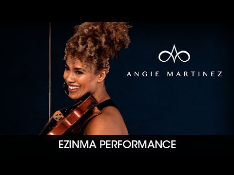Ezinma Plays 'Unforgettable' On The Angie Martinez Show
