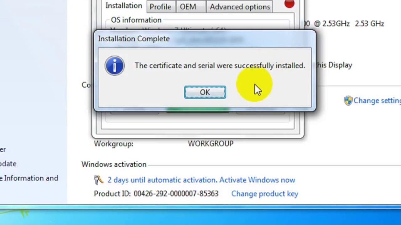 crack win 7 ultimate 32 bit 64 bit bằng windows loader
