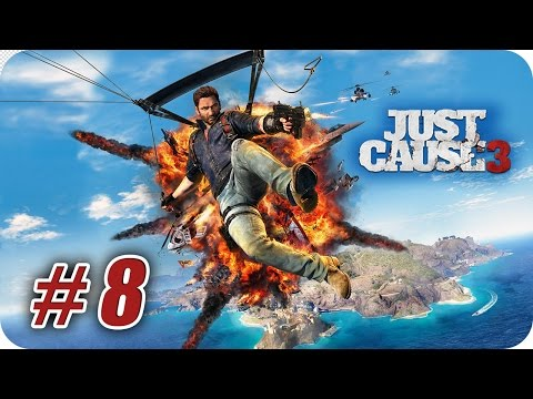 Just Cause 3 - Gameplay Español - Capitulo 8 - Un Sendero y Peligroso - 1080pHD