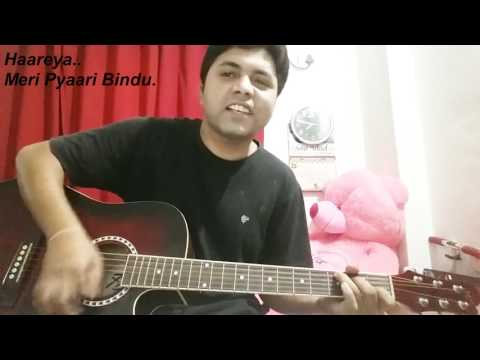 Haareya Song | Meri Pyaari Bindu| Arijit Singh | Guitar Chords Cover