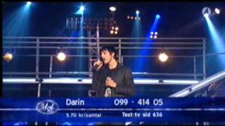 Darin Zanyar Un break my heart idol