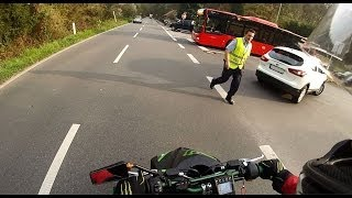 Peugeot Jet Force Tour / Fahrtvideo / Anzug - GoPro Hero 3