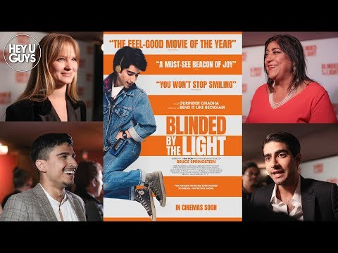 Blinded By The Light Premiere Interviews - Gurinder Chadha & Cast On The Bruce Springsteen Musical