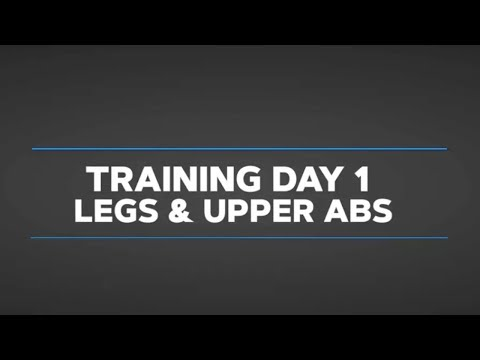 Gethin's Beginner Daily Video Trainer: Day 1 Legs And Abs