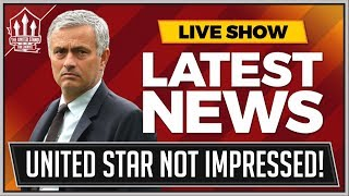 Man Utd STAR SLAMS Mourinho! Man Utd News