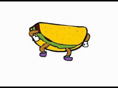 dancing taco productions animated logo youtube