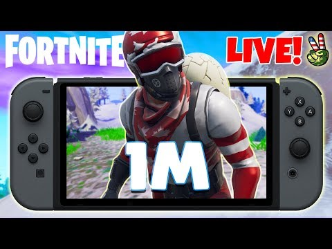 Pro Nintendo Switch Player! // NEW ROAD TO 1M // (Fortnite Battle Royale LIVE)