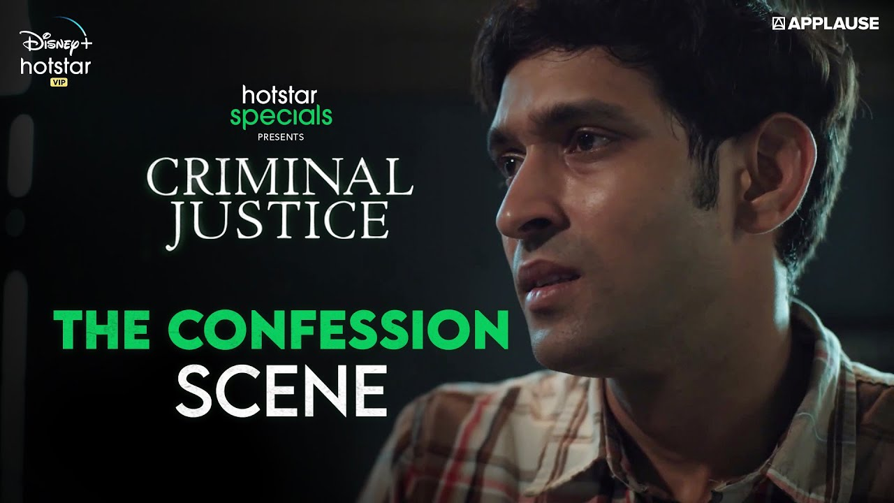 Download Vikrant Massey's confession | Criminal Justice | Disney+ Hotstar VIP
