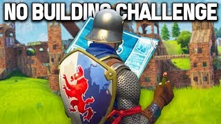 WINNING *WITHOUT* BUILDING in Fortnite Battle Royale!