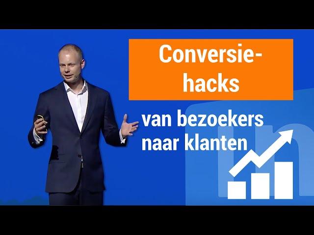 Conversie verhogen? Zo haal je meer leads en klanten uit je website!