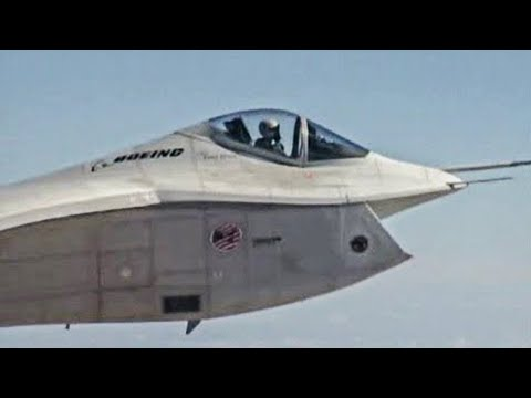 Boeing X-32A/B JSF competition video compilation (all videos)