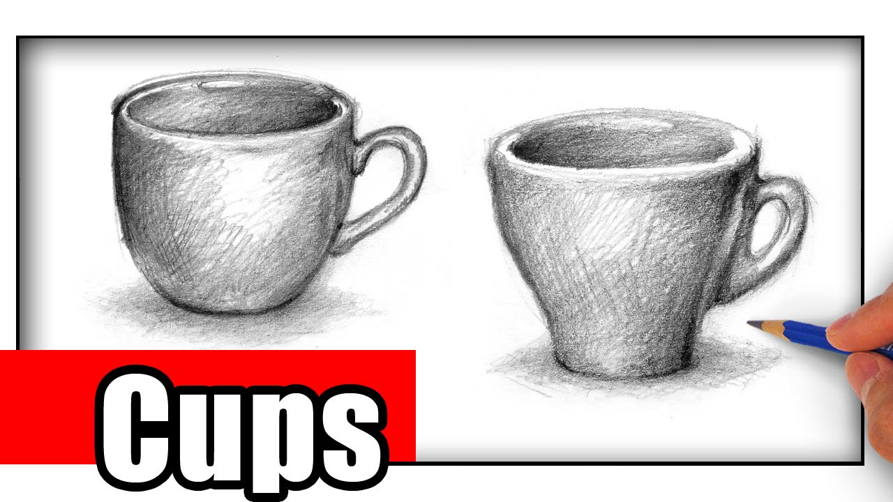 How to Draw a Cup - It\'s Important - YouTube