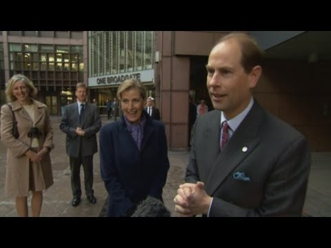Prince Edward and Countess of Wessex on Kate's pregnancy