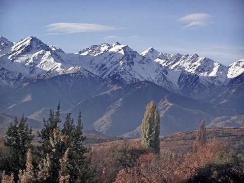 Как называются горы в казахстане