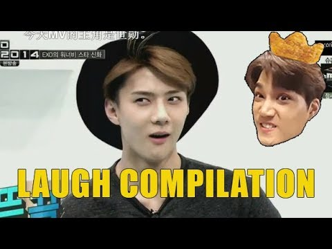 EXO LAUGH COMPILATION!