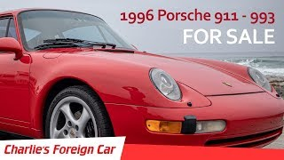 For Sale - 1996 Porsche 911 - 993