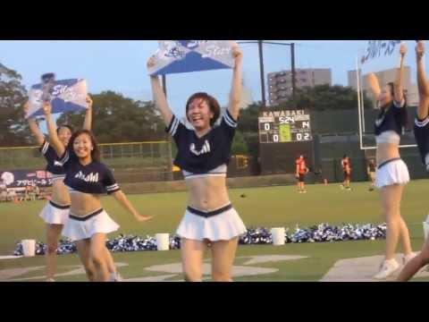 【Xリーグ2013】富士通vsアサヒビール ハーフタイムショー