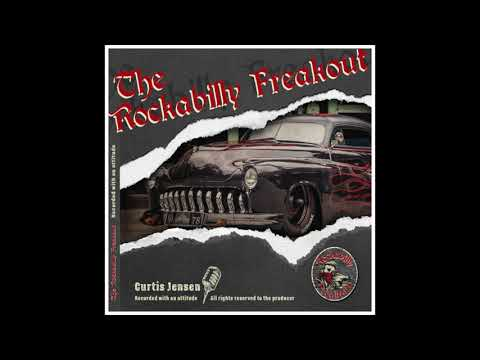 CURTIS JENSEN Featuring Knud Tiroch - ROCKABILLY FREAKOUT MACHINE